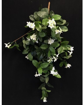 Artificial silk green stephanotis hanging plant artificial trees artificial silk green white stephanotis hanging plant mightylinksfo
