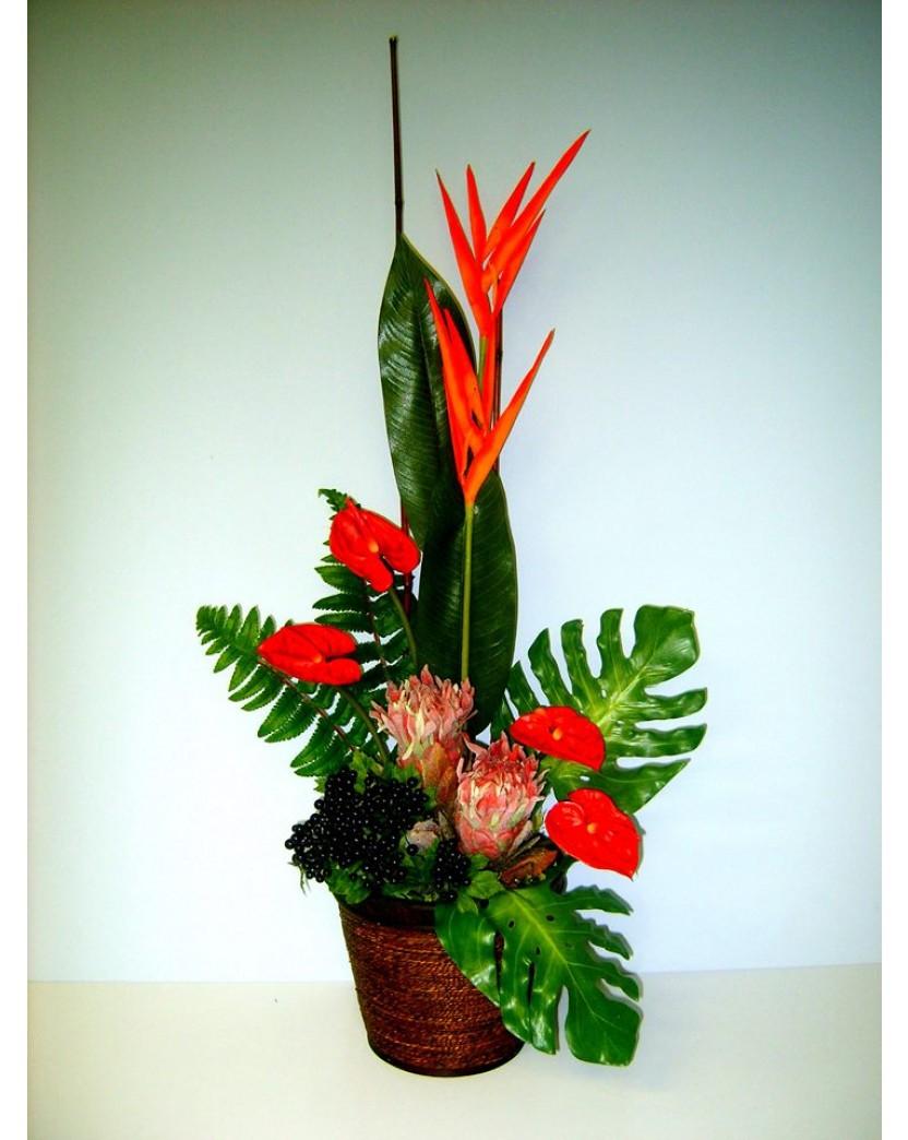 Latex Silk Artificial Floral Flower Arrangement Artificial Trees