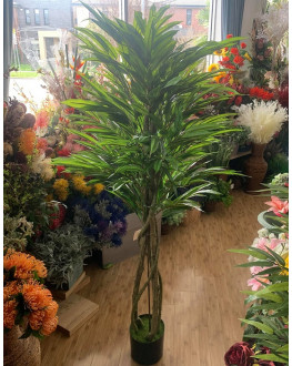 Artificial Fake Green Mango Palm Tree 165cm High