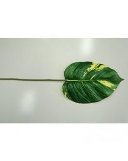 Artificial Green Foam Greenery Pothos Leaf 60cm