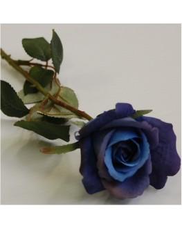 Silk Blue Rose