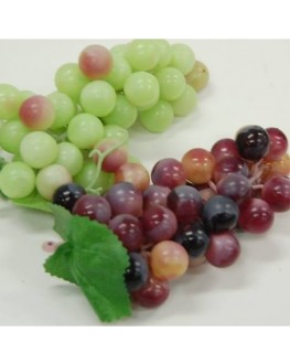 1 x Artificial Fruit life size Grapes Grape