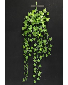 Artificial Silk Green Ivy Hanging Plant