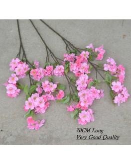 Silk Cherry Blossom Cream White or Pink 70cm high