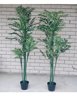 1x Artificial Bamboo Areca Palm Tree 5ft high