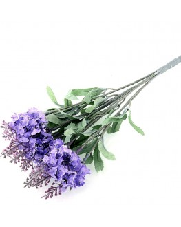 Silk Lavender purple bush