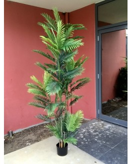 7ft Artificial Areca Palm Tree with Latex coated Leaf