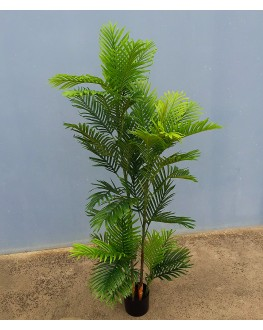 1x Artificial Green Areca Palm Tree 5ft 150cm high