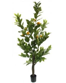 150cm high Artificial Green Lemon Tree