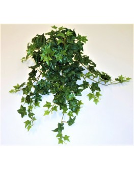 Artificial Silk Green English Ivy Hanging Plant 60cm