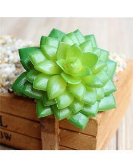 Artificial Green Succulent Plant Cactus Echeveria 9cm high x 7cm wide