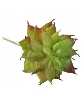 Artificial Green Succulent Plant Cactus Echeveria 8cm high x 6cm wide